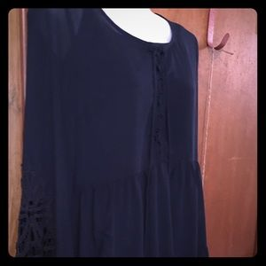 Blu Peooer two pieces dress size small